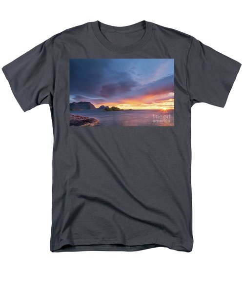 Men's T-Shirt  (Regular Fit) featuring the photograph Dreamy Sunset by Maciej Markiewicz