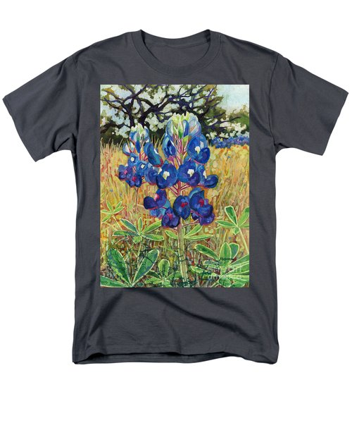 Men's T-Shirt  (Regular Fit) featuring the painting Early Bloomers by Hailey E Herrera