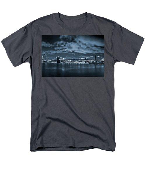 Men's T-Shirt  (Regular Fit) featuring the photograph East River View by Az Jackson