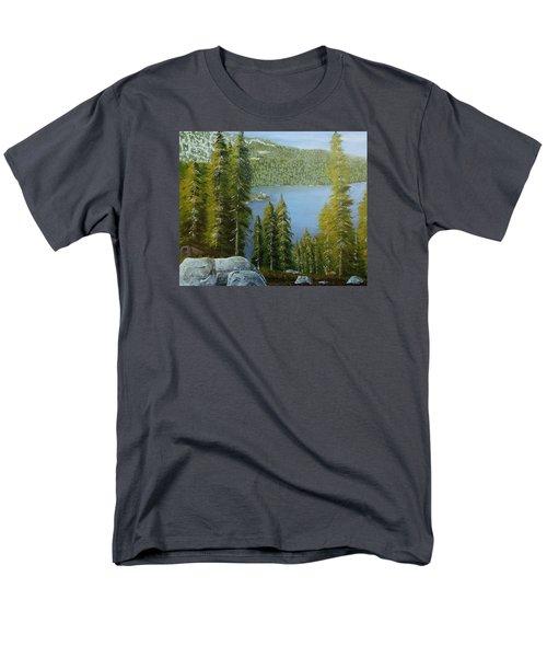 Emerald Bay - Lake Tahoe Men's T-Shirt  (Regular Fit) by Mike Caitham