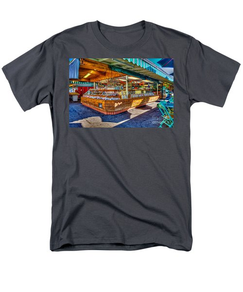 Fairfax Farmers Market Men's T-Shirt  (Regular Fit) by David Zanzinger