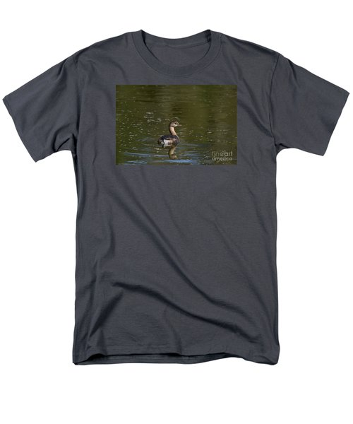 Feathered Friend Men's T-Shirt  (Regular Fit) by Kathy Gibbons