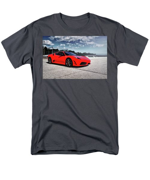 Men's T-Shirt  (Regular Fit) featuring the photograph Ferrari F430 by Joel Witmeyer