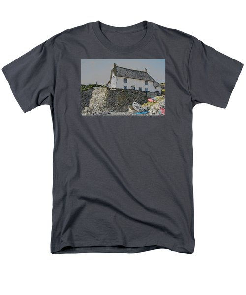 Men's T-Shirt  (Regular Fit) featuring the photograph Fishermans Cottage by Brian Roscorla