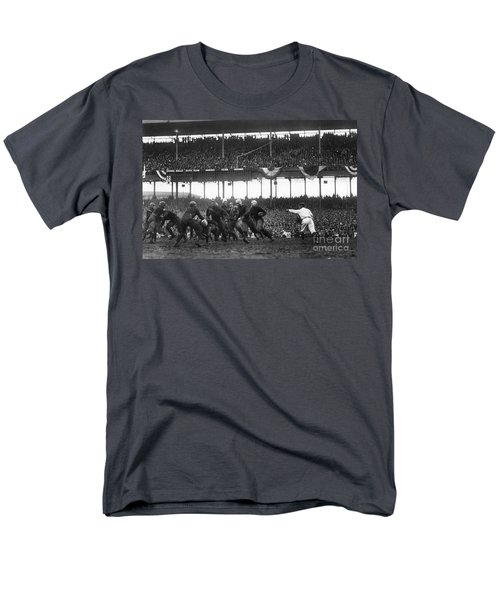 Football Game, 1925 Men's T-Shirt  (Regular Fit) by Granger
