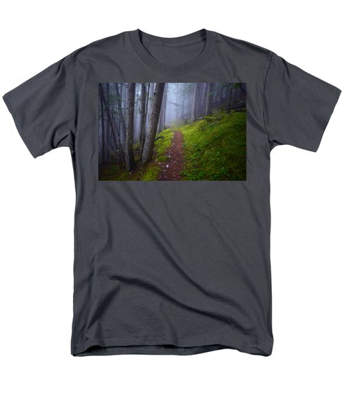 Men's T-Shirt  (Regular Fit) featuring the photograph Forest Mysteries by Tara Turner