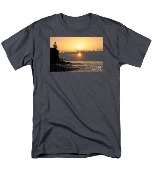 Men's T-Shirt  (Regular Fit) featuring the photograph Golden Glow by Sandra Updyke