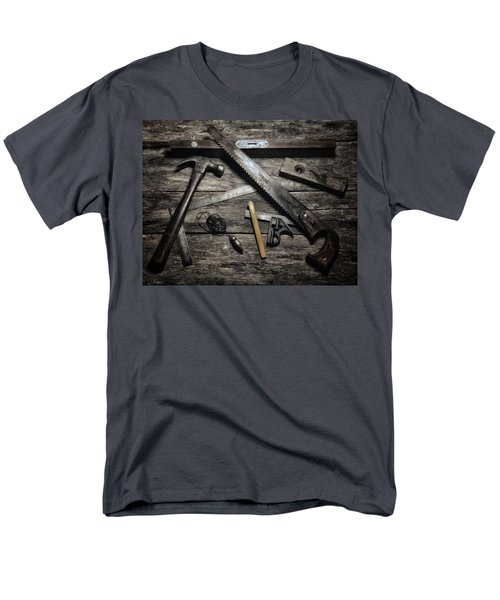 Men's T-Shirt  (Regular Fit) featuring the photograph Granddad's Tools by Mark Fuller