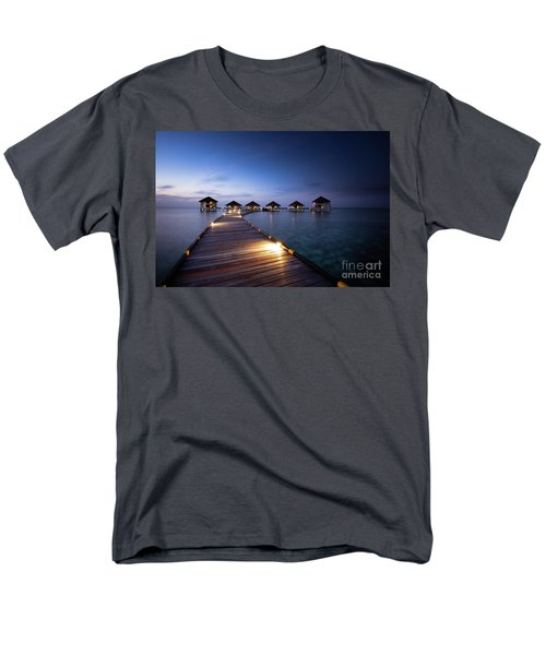 Men's T-Shirt  (Regular Fit) featuring the photograph Honeymooners Paradise by Hannes Cmarits