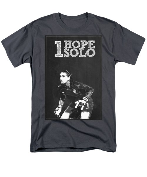 Hope Solo Men's T-Shirt  (Regular Fit) by Semih Yurdabak