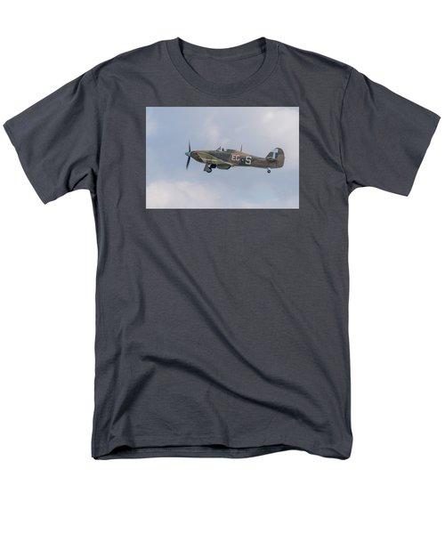 Hurricane Taking Off Men's T-Shirt  (Regular Fit) by Gary Eason