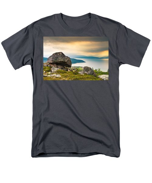 Men's T-Shirt  (Regular Fit) featuring the photograph In The North by Maciej Markiewicz