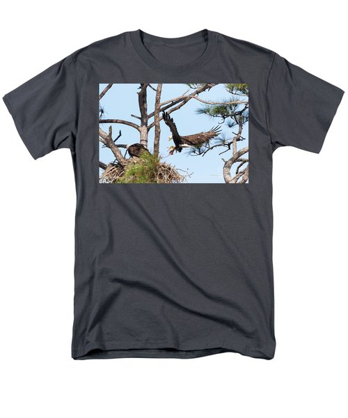 Men's T-Shirt  (Regular Fit) featuring the photograph Incoming Food by Deborah Benoit