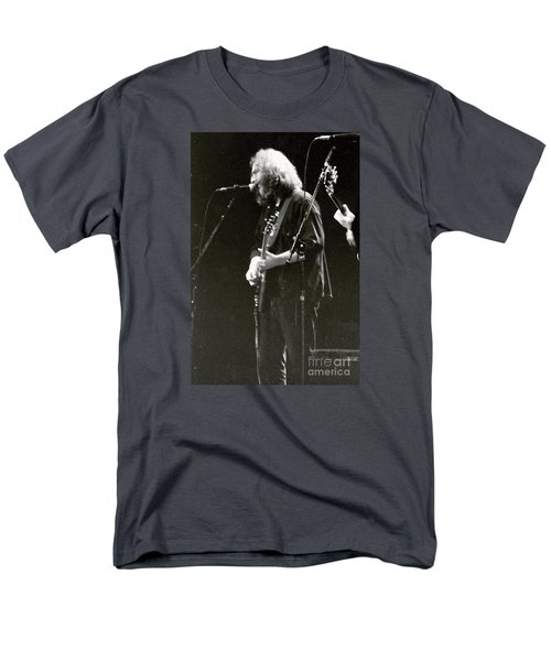 Grateful Dead - Jerry Garcia - Celebrities Men's T-Shirt  (Regular Fit)