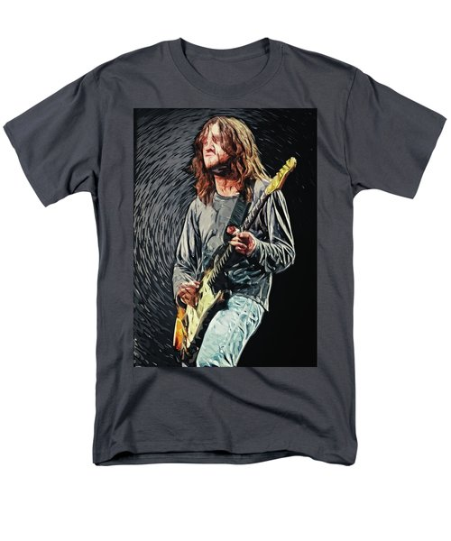 John Frusciante Men's T-Shirt  (Regular Fit) by Taylan Apukovska