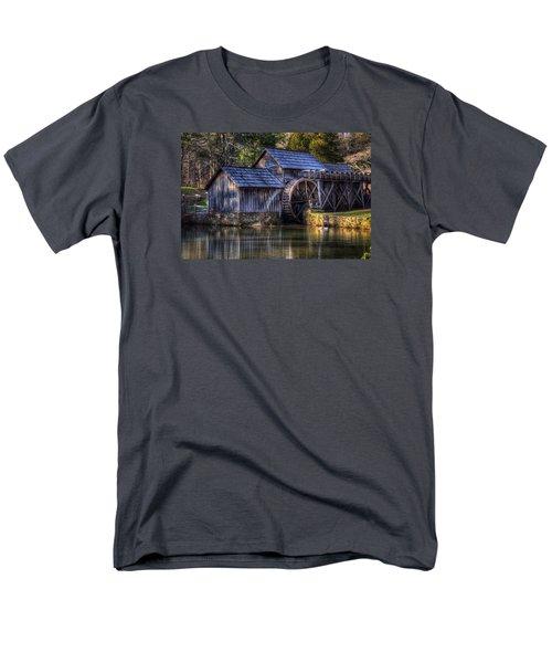 Mabry Mill Men's T-Shirt  (Regular Fit) by Steve Hurt