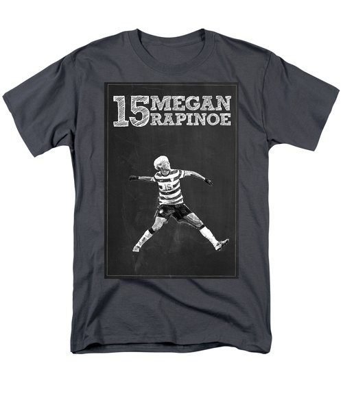 Megan Rapinoe Men's T-Shirt  (Regular Fit) by Semih Yurdabak