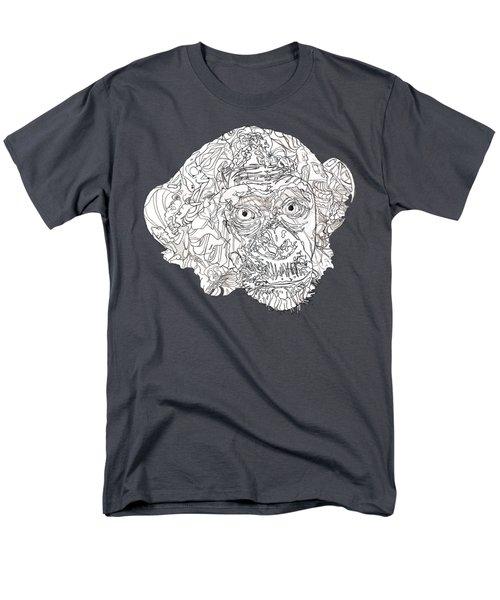 Monkey Men's T-Shirt  (Regular Fit) by Jacob Hurley