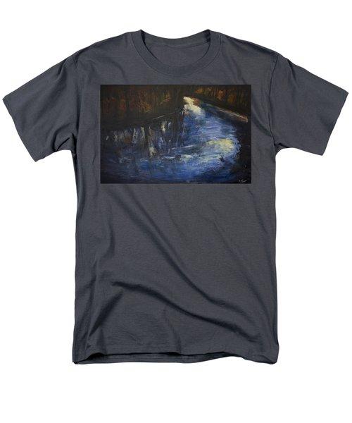 October Reflections Men's T-Shirt  (Regular Fit) by John Hansen