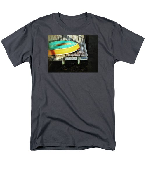 Men's T-Shirt  (Regular Fit) featuring the photograph On Deck by Olivier Calas