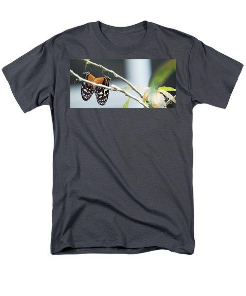 Men's T-Shirt  (Regular Fit) featuring the photograph On The Edge by Deborah Klubertanz