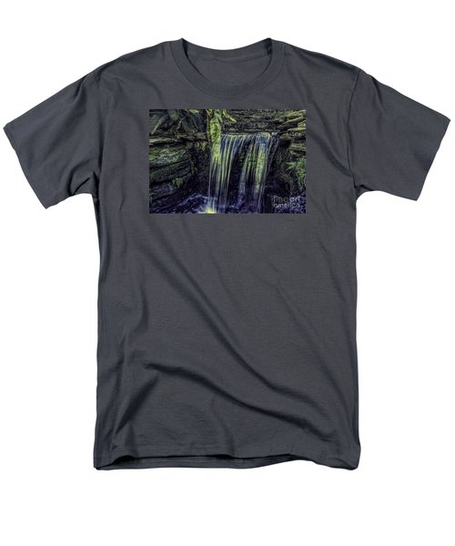 Men's T-Shirt  (Regular Fit) featuring the photograph Over The Edge Two by Ken Frischkorn
