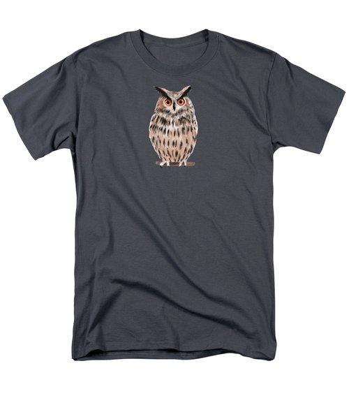 Owl Men's T-Shirt  (Regular Fit) by Jean Pacheco Ravinski