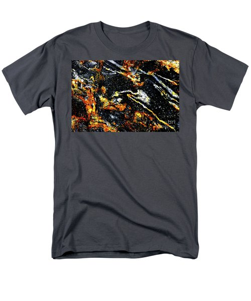 Men's T-Shirt  (Regular Fit) featuring the photograph Patterns In Stone - 189 by Paul W Faust - Impressions of Light