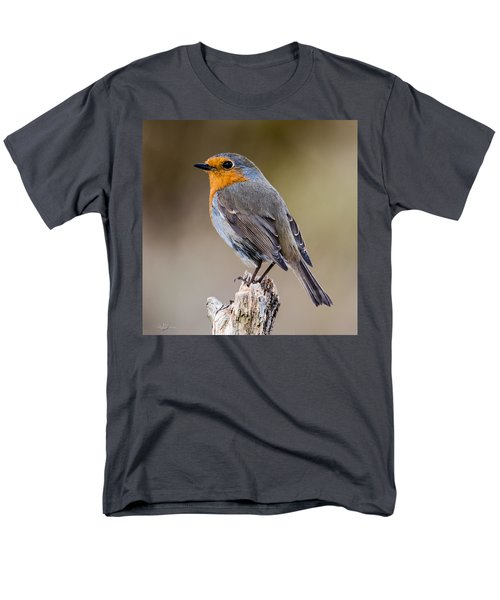 Perching Men's T-Shirt  (Regular Fit) by Torbjorn Swenelius