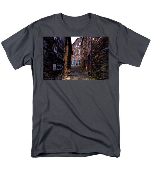 Men's T-Shirt  (Regular Fit) featuring the photograph Piodao - Portugal by Edgar Laureano