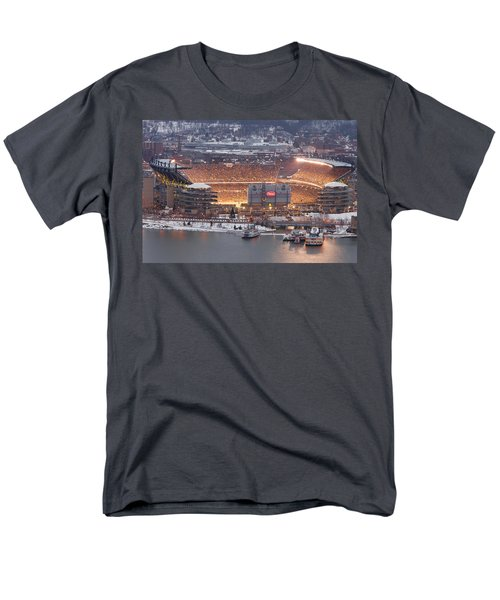Pittsburgh 4 Men's T-Shirt  (Regular Fit) by Emmanuel Panagiotakis
