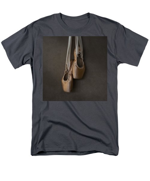 Men's T-Shirt  (Regular Fit) featuring the photograph Sacred Pointe Shoes by Laura Fasulo