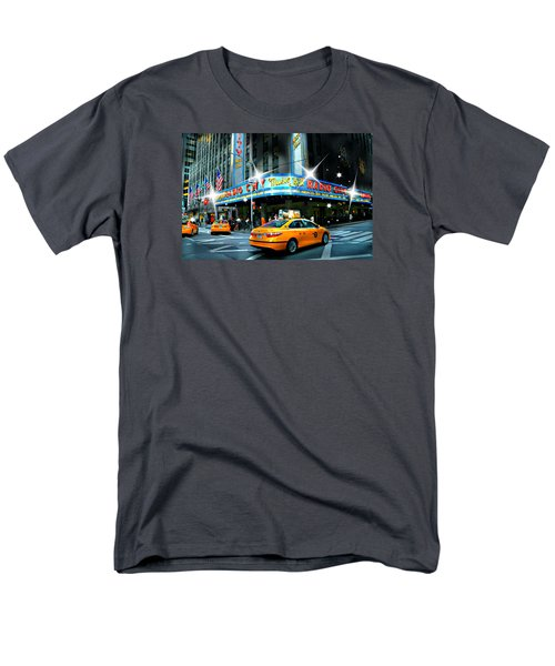 Radio City Men's T-Shirt  (Regular Fit) by Diana Angstadt