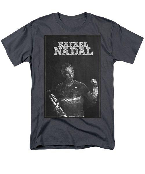 Rafael Nadal Men's T-Shirt  (Regular Fit) by Semih Yurdabak
