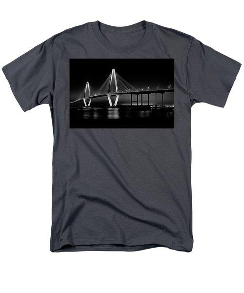 Ravenel Bridge Men's T-Shirt  (Regular Fit) by Bill Barber