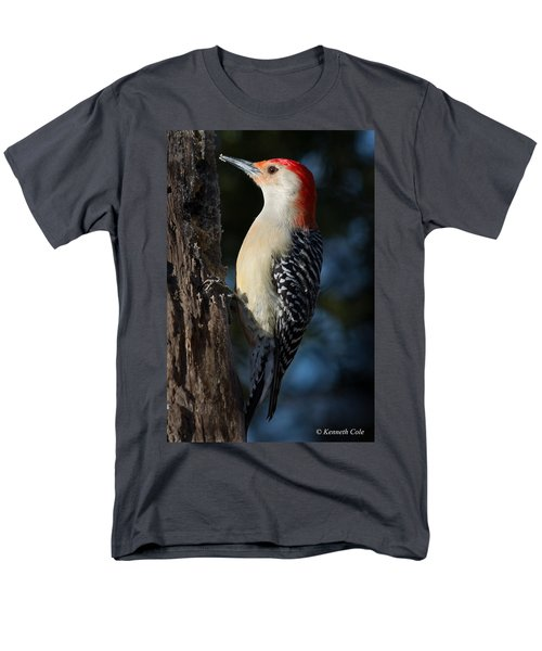 Red-bellied Woodpecker 3a Men's T-Shirt  (Regular Fit) by Kenneth Cole