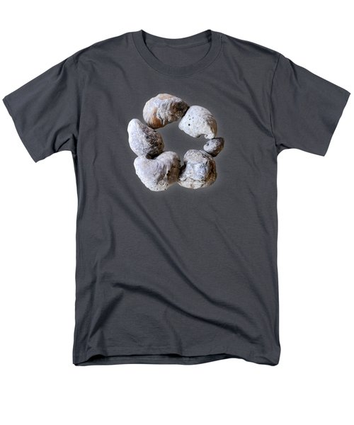 Ring Of Fossils Men's T-Shirt  (Regular Fit) by Cheryl McClure