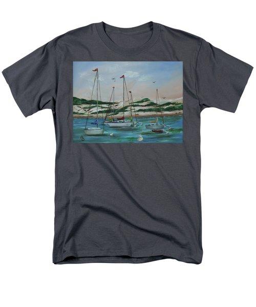 Safe Harbor Men's T-Shirt  (Regular Fit)