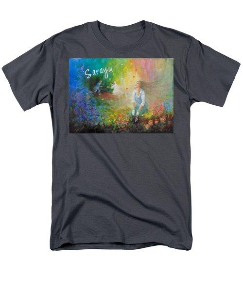 Sarayu Men's T-Shirt  (Regular Fit) by Janet McGrath