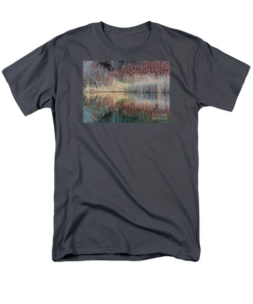 Men's T-Shirt  (Regular Fit) featuring the photograph Seasons Edge by Christian Mattison