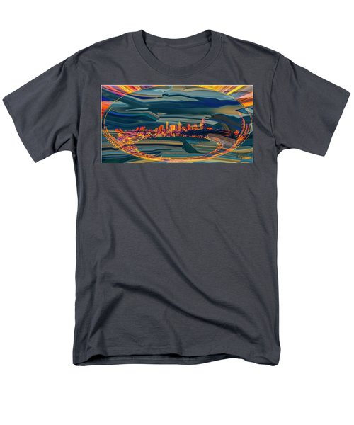 Seattle Swirl Men's T-Shirt  (Regular Fit) by Dale Stillman