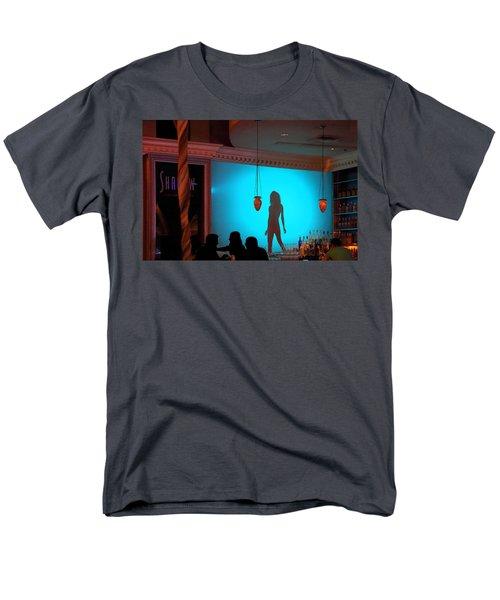 Shadow On The Wall Men's T-Shirt  (Regular Fit) by Viktor Savchenko