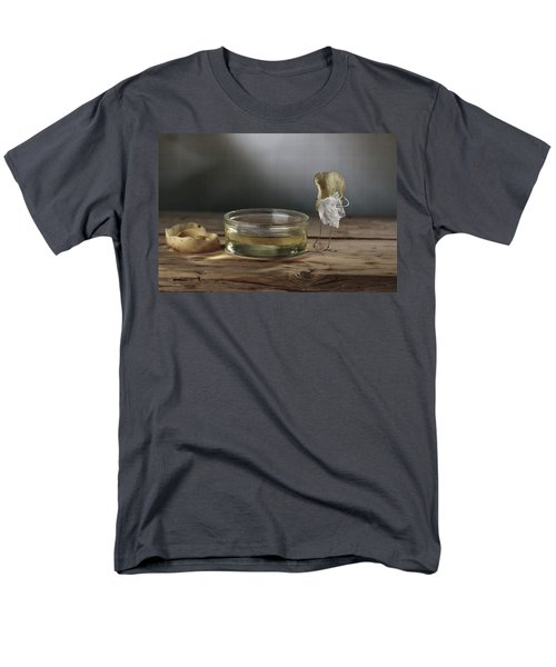 Simple Things - Potatoes Men's T-Shirt  (Regular Fit) by Nailia Schwarz