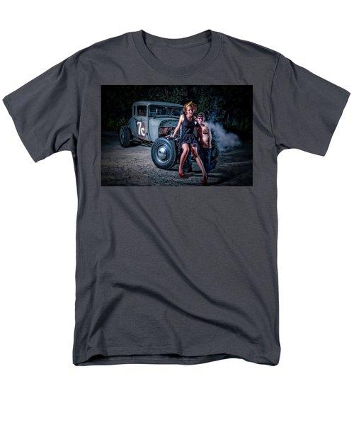 Smoke Men's T-Shirt  (Regular Fit) by Jerry Golab