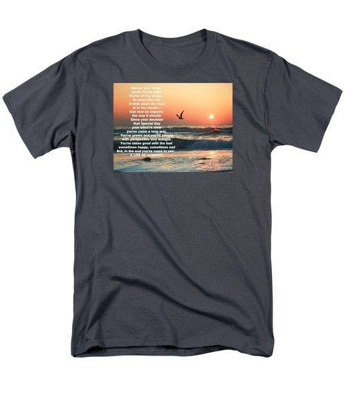 Spread Your Wings Men's T-Shirt  (Regular Fit) by Belinda Lee