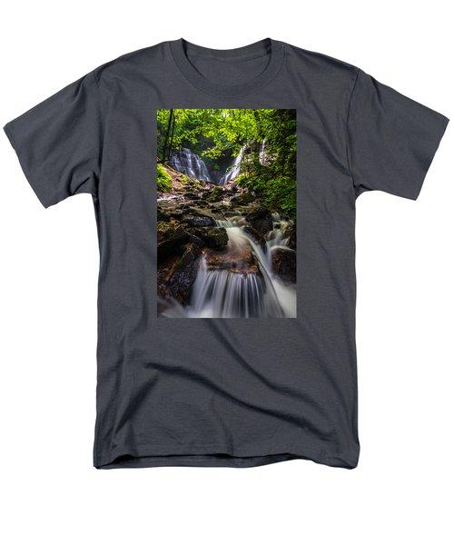 Soco Falls Men's T-Shirt  (Regular Fit) by Serge Skiba