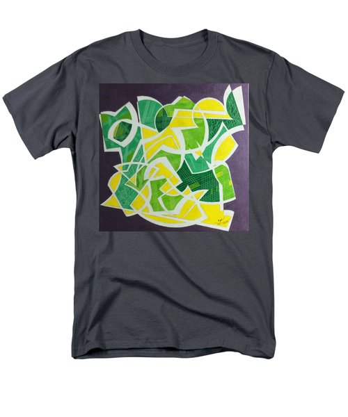 Men's T-Shirt  (Regular Fit) featuring the painting Spring by Hang Ho