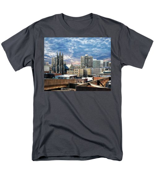Stamford Cityscape Men's T-Shirt  (Regular Fit) by Anthony Dezenzio