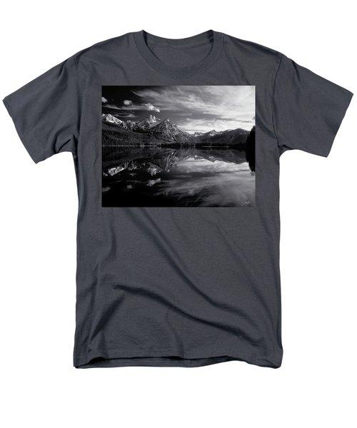 Stanley Lake Men's T-Shirt  (Regular Fit) by Leland D Howard