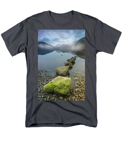 Stepping Stones Men's T-Shirt  (Regular Fit) by Ian Mitchell
